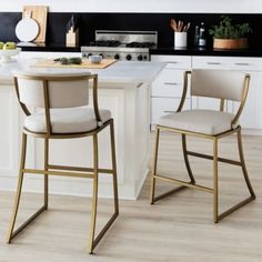 Mix and mingle with friends on a bar stool or coutner stool for any occasion! Find bar stools, kitchen stools, counter stools, bar chairs and bar furniture at Ballard Designs. Counter Stools With Backs, Kitchen Counter Stools, Counter Height Bar Stools, Brass Bar Stools, Modern Counter Stools, Cool Bar Stools, Island Stools, Counter Space, Counter Top