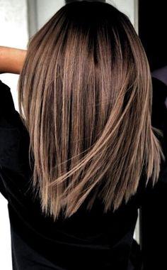 Ideas de color de cabello para morenas de cabello corto - Ideas de color de cabello para cabello corto B . Oval Face Hairstyles, Hairstyles With Bangs, Cool Hairstyles, Hairstyles 2018, Office Hairstyles, Anime Hairstyles, Hairstyles Videos, Hairstyle Short, Hair Updo