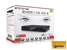 GENUINE Amiko 8140 HD 3D PVR Satellite Receiver with 12 Months Gift.  Amiko Combo HD is a great product and good value for money.