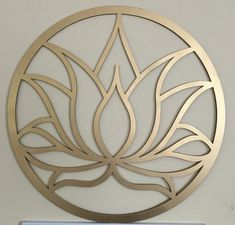 golden lotus Golden lotus You can find Lotus and more on our website Stencil Patterns, Stencil Art, Metal Art, Wood Art, Deco Cuir, Lotus Flower Art, Inkscape Tutorials, Scroll Saw Patterns, Cutwork
