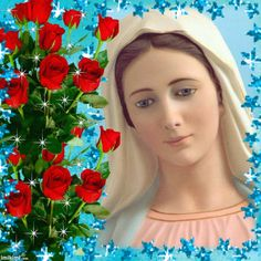 Blessed Mother Mary, Blessed Virgin Mary, Mama Mary, Queen Of Heaven, Holy Mary, Jesus Pictures, Madonna And Child, Gods And Goddesses, Our Lady