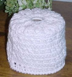 CROSS STITCH TOILET TISSUE COVER