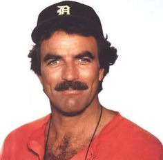 Handsome Tom Selleck was born in Detroit, Michigan (notice the Detroit Tigers cap :o)