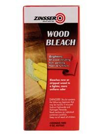 When you need to lighten the shade of any wood surface, Rust-Oleum® Zinsser® Wood Bleach does the job. This powerful solution brightens, evens out color variations and brings out the authentic beauty of natural wood.