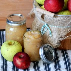 Homemade slow cooker apple sauce recipe