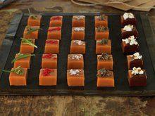 Fløtekarameller Sarah Bernard, Caramel Delights, Sushi, Waffles, Mad, Food And Drink, Sweets, Snacks, Cooking