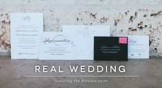 Real Weddings: Alexina &Brian - Sincerely, Jackie Blog - Sincerely, Jackie | Long Island Wedding Invitations | Letterpress, Foil Stamping and Engraving
