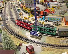 Model Trains | SCALE MODEL RAILROAD LAYOUT FOR SALE- FULL SET WITH ALL SCENERY