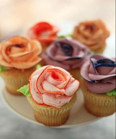 At first I thought these were meat, but they're frosting :)