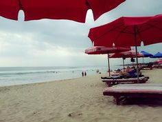 Kuta Bali Beach in Depansar (Bali), Indonesia