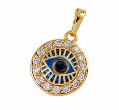 Turkish evil eye pendant Goodluck Charms, Rhyming Slang, Evil Eye Jewelry, Evil Eye Pendant, Hamsa, Pocket Watch, Turkey, Pouch, Mince Pies