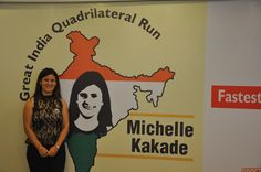 """The Great India Quadrilateral Run is about me, attempting a Guinness World Record for """"Fastest time to travel the Indian Golden Quadrilateral on foot (female)"""" by running 6010 km, covering 57 major cities in India and on the country's most valuable and largest highway project, 'The Golden Quadrilateral'."""