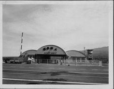Kona Airport terminal, Hawaii Island.