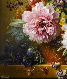 HD Baroque Painting, China Painting, Floral Illustrations, Illustration Art, Classic Paintings, Painting Still Life, Rose Art, Renaissance Art, Art Plastique