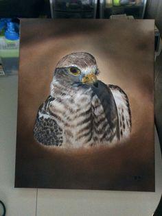 Oil 16x20 Owl, Bird, Painting, Animals, Animales, Animaux, Owls, Birds, Painting Art