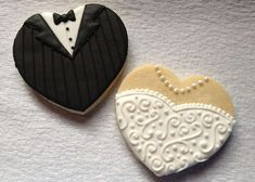 wedding favors with bow ties and pearls | Cute Bridal Confections - Impress Your Nuptial Guests with These Bride ...