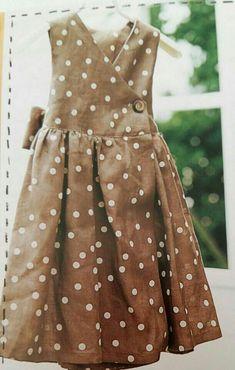 Blog 이미지 뷰어 Toddler Dress, Baby Dress, Sewing Collars, Girls Dresses, Summer Dresses, Linen Tunic, Family Outfits, Work Fashion, Korean Fashion