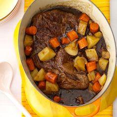 Company Pot Roast Recipe from Taste of Home