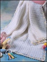 It uses single and double crochet only. It crochets up really easy and fast!
