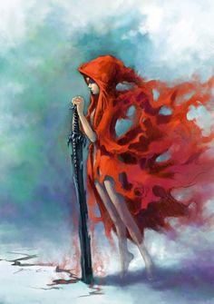 red riding hood tattoo idea