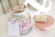 Grateful Jar by Eva Pizarro for We R Memory Keepers Thankful Heart, Grateful, We R Memory Keepers, Hello Everyone, Mason Jars, Crafts, Thanksgiving, Manualidades, Thanksgiving Tree