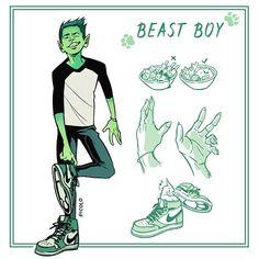 Beast Boy por Picolo