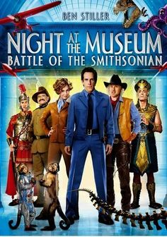 Night at the Museum 2: Battle of the Smithsonian (2009) In this sequel to the hit comedy, Ben Stiller returns as hapless museum night watchman Larry Daley, who must help his living, breathing exhibit friends out of a pickle now that they've been transferred to the archives at the Smithsonian Institution. Larry's (mis)adventures this time include close encounters with Amelia Earhart (Amy Adams), Abe Lincoln (Hank Azaria) and Ivan the Terrible (Christopher Guest). Owen Wilson and Robin…