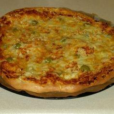 Hallo liebe Hexen und Hexer  ;)  Pizzateig für alle, die Kohlenhydrate sparen möchten.  In den Mixtopf:  200 Gramm Mandeln ohne Haut   20 Gramm entöltes...