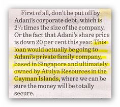 TURNBULL GOVT GIVES LOAN TO ADANI...    THEN WHAT...???    WE'LL NEVER SEE THE LOAN REPAID!