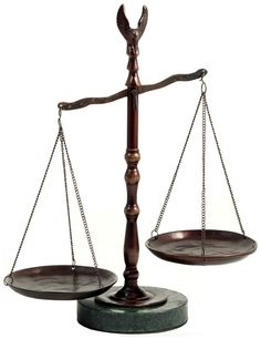 Bronzed Legal Scales of Justice with Eagle Finial and Marble Base-12.5in.ht Great Lawyer Gift