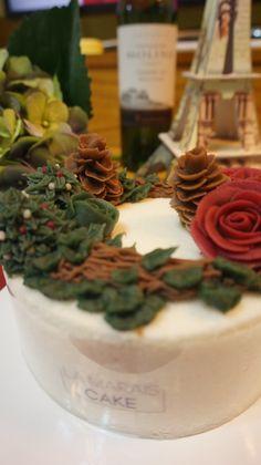 앙금플라워떡케이크 Rice Flower Cake