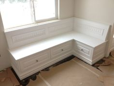 Custom Built Corner Bench Seat. | Yelp