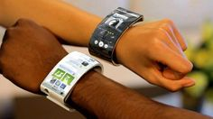 EmoPulse bracelet smartphone wants to go beyond smartwatches - futuristic-look