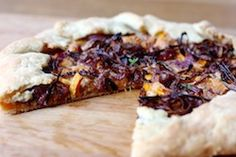 ben and birdy: Butternut Galette with Roasted Onions, Pecans, and Blue Cheese