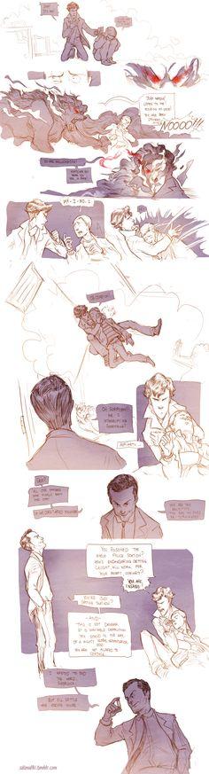 Teen Sherlock Bluebells Experiment Pt4 by DrSlug.deviantart.com on @deviantART