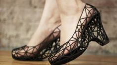 These shoes were made using a 3D printer. Now pharma is looking for ways to use the futuristic technology.