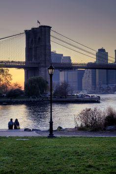 Brooklyn Bridge, New York City  (by AliJG on Flickr)