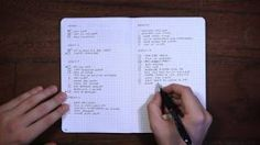 Ryder Carroll, the original bullet journal - YouTube