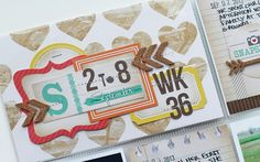 ** Chic Tags- delightful paper tag **: project life