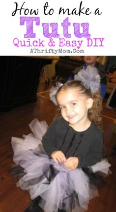 How to make a tutu,