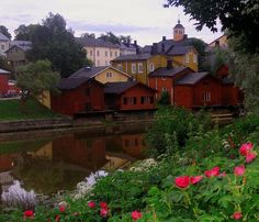 Beautiful picture of Porvoo, Finland Beautiful Places To Visit, Beautiful World, Places To See, Places Ive Been, Lappland, Places Around The World, Around The Worlds, Vacation Wishes, Destinations
