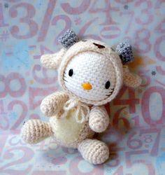 Crochet amigurumi toy doll Pattern Zodiac Sheep / par ZodiacGurumi