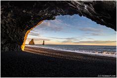 Vik Sunset Basalthöhle
