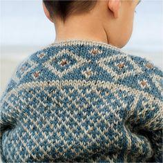 Du store Alpakka, børnetrøje, 35-13 Knitting For Kids, Knitting Socks, Baby Knitting, Knitted Hats, Baby Sweater Patterns, Baby Barn, Fair Isle Knitting Patterns, Boys Sweaters, How To Make Clothes