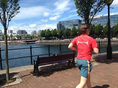 Manchester's Salford Quays have been rejuvenated, and are a great spot for a run through the old harbor area