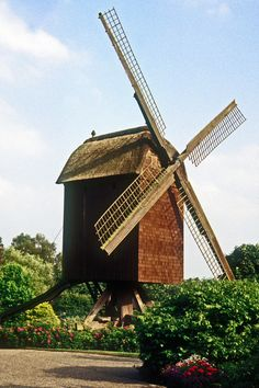 Walsrode Germany Windmill