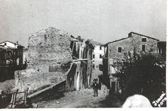 Conseguenze delle esplosioni in Via G. Giusti. Foto databile al primo settembre 1944.