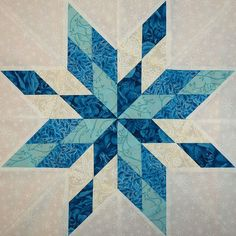 Sampaguita Quilts: Stars of the Sea in AP&Q
