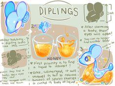 Diplings New Species Idea by kub-e.deviantart.com on @DeviantArt