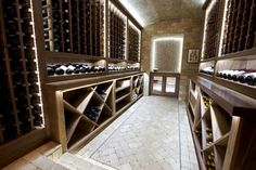 simple and cool...good under counter lighting...wine cellar